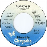 Cover Blondie - Sunday Girl [French Version]